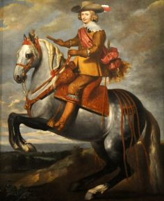 Fernando de Austria, Cardenal-Infante de España y Portugal (1609 - 1641), Gobernador de los Países-Bajos Españoles / Ecuestre.