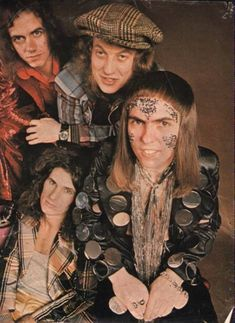Slade Band, Noddy Holder, Walsall, 25th Anniversary, Lineup, British Rock, My Past, Town Hall, Rock Style