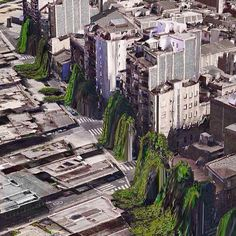 Photography: iOS Maps glitches depict a weirdly dystopian parallel universe
