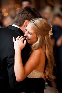 10 Half-Up Wedding Hairstyles: Which Is Your Favorite?: Save the Date: Weddings: glamour.com