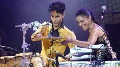 Prince and Sheila E. Still kicking it!