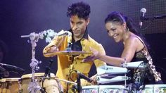 Prince and Sheila E. Still kicking it!