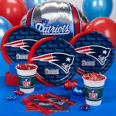 New England Patriots Party Kit for 8