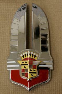1941 Cadillac Hood Badge