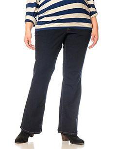 b7ac39109e5f0 Motherhood Plus Size Secret Fit Belly Boot Cut Maternity Jeans ** Want  additional info?