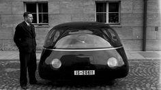 The Schlörwagen vehicle as shown in Germany in 1939.