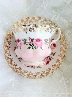 Vintage Royal Albert Tea Cup and Saucer