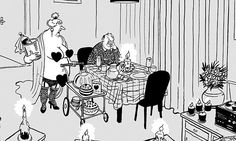 MAC ON.Valentine's Day: 'No. not another North Korean missile test. Heath Robinson, Love Art, My Love, Comic Strips, Valentines Day, Cartoons, Mac, Comics, Funny