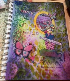 Daniele Meilleur on THE DYAN REAVELEY SOCIETY OF ART JOURNALING Gateway Group. ❤ the colors!!