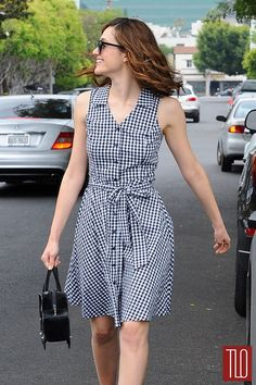 Emmy Rossum Out and About in Aqua in West Hollywood Casual Work Outfits, Casual Dresses For Women, Cute Dresses, Beautiful Dresses, Clothes For Women, Petite Fashion, Love Fashion, Girl Fashion, Abaya Fashion