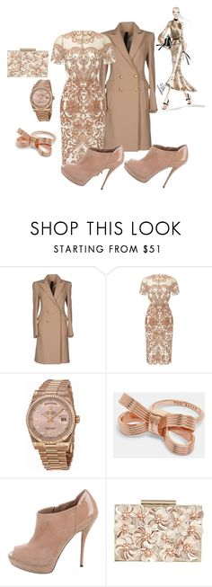 """""""Hi Tech"""" by deirdre35 on Polyvore featuring Gareth Pugh, Notte by Marchesa, Rolex, Ted Baker, Gucci, Phase Eight and Bibhu Mohapatra"""
