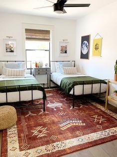 Evergreen House: The Kid's Bedroom - Juniper Home Shared Boys Rooms, Boy Rooms, Kids Rooms, Little Boys Rooms, Toddler Rooms, Chambre Nolan, Girls Bedroom, Bedroom Decor, Childs Bedroom