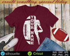 Your Name SVG Football Cut file Cheer svg School spirit Sayings Football svg Football Sister svg Football Mom svg Silhouette Cricut - Life Shirts - Ideas of Life Shirts - Your Name SVG Football Cut file Cheer svg School spirit Football Sister, Football Mom Shirts, Cheer Shirts, Team Shirts, Sports Shirts, Football Stuff, Football Girlfriend, Baseball Stuff, Football Spirit