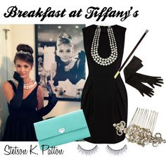 Breakfast at Tiffany's by stetsonkpatton, via Polyvore