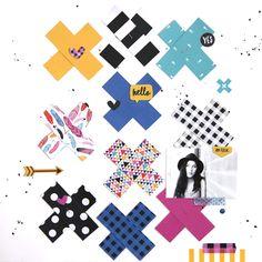 Bella Blvd Addison collection. On Fleek layout by October Guest Designer Gina Lideros
