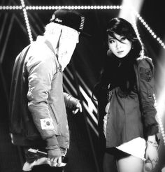 CL and G-DRAGON, with R.O.D style ^_^ *from tumblr*