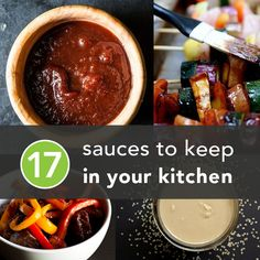Boring dinner? Not anymore—spice up any meal with these healthier condiments and sauces.  #healthier #sauce #condiments http://greatist.com/health/healthy-condiments-pantry-staples