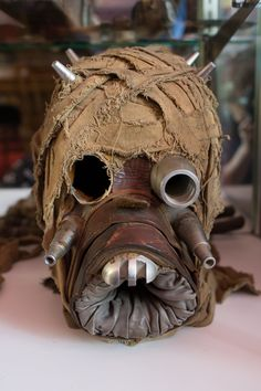 Tusken Raider Mask - Star Wars Collectors Archive