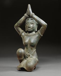 Kneeling Female. Period: Angkor