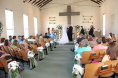 The wedding at the chapel