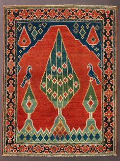 Caucasian Prayer rug, 3rd quarter 19th century.
