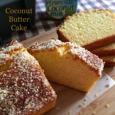 My Mind Patch: Coconut Butter Cake 椰香牛油蛋糕