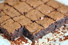 Chewy Malt Brownies by bittersweet-baker: 'Enough resistance for your teeth to meet for good chew, deep, dark, chocolaty flavor, and a slightly fudgy interior.' #Brownies #Chocolate_Malt