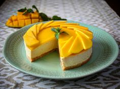 Nepečený mangový cheesecake – Worth to eat… Cheesecake, Cantaloupe, Mango, Food And Drink, Pudding, Yummy Food, Fruit, Eat, Desserts
