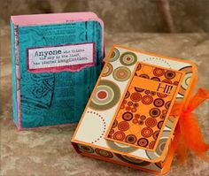 Club Scrap Creates: Holiday Gift Card Box Tutorial and Video - sweet card holder by Tricia Morris