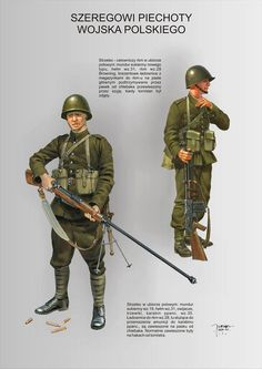 Military Gear, Military History, Poland Ww2, Ww2 Uniforms, Military Pictures, Military Diorama, Armed Forces, World War Two, Troops