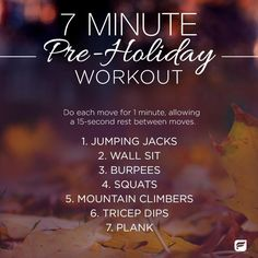Stay slim this season with this quick pre-Thanksgiving holiday workout you can do at home.  | Fabletics Blog