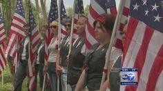 Monument to LGBT veterans dedicated in Elwood |