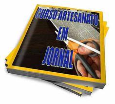 Curso De Artesanato Com Jornal