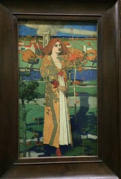 UK 2015: Phoebe Anna Traquair and Embroidery Tour begins