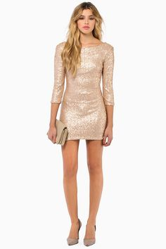 Tobi See Me Sequin Bodycon Dress