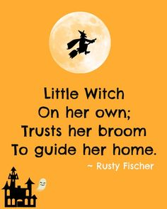 Little Witch... A Halloween poem