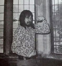 My father can beat up your father. John Entwistle