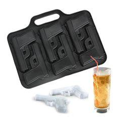 Gun Ice Cube Style Ice Mold-Limited supply.