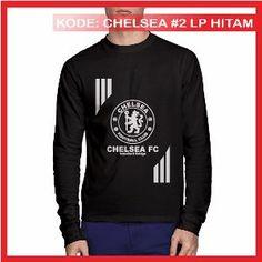 Kaos Chelsea FC 2 Kaos Distro Kaos Bola Kaos Lengan Panjang Hitam Metsu Store