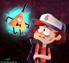 Bill: Hey Pinetree! Dipper: Bill? What are you doing here?