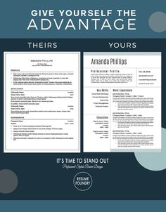 How To Make A Resume In Word Modern Resume Template  Pinterest  Modern Resume Template Modern .