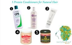 5 Protein Conditioners for Natural Hair