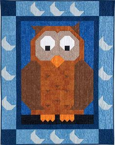 - Hoo Patch Pal Quilt Kit