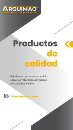 Productos y servicios de calidad. Chart, High Standards, Flats, Products