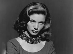 Lauren Bacall was my idle growing up. I wanted to be able to spit nails and heal wounds and look good doing it. Lauren Bacall was my idle growing up. I wanted to be able to spit nails and heal wounds and look good doing it. Vintage Hollywood, Old Hollywood Glamour, Golden Age Of Hollywood, Classic Hollywood, Vintage Glamour, Vintage Beauty, Vintage Waves, Retro Waves, Vintage Hair