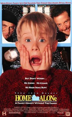 Home Alone (1990) Original One Sheet Movie Poster