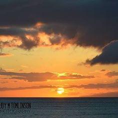 """Threatening Beauty"" by Judy M Tomlinson Photography. http://www.judymtomlinsonphotography.ca/. #printsforsale #londonontariophotographer #maui #sunset#landscape #scenic #nikon"