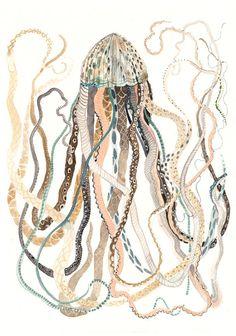 Jellyfish - Original painting