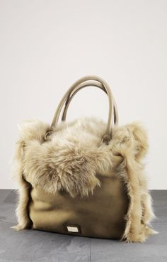 Escada bag fur