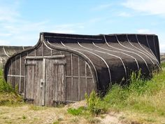 Love these old boats that have been turned into sheds on Lindisfarne/Holy Island.